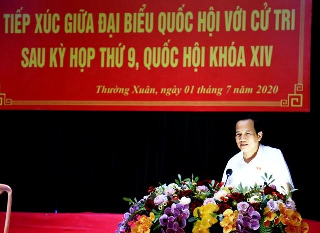 Bộ trưởng Đào Ngọc Dung lắng nghe ý kiến cử tri về đời sống, việc làm... - 6