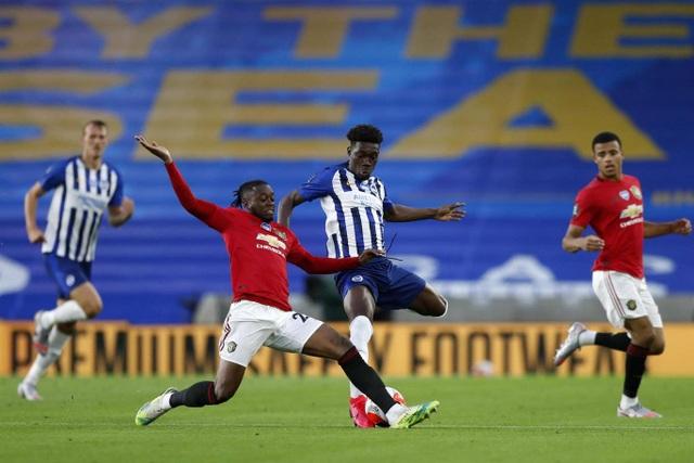 Fernandes xuất sắc nhất trong chiến thắng của Man Utd trước Brighton - 1
