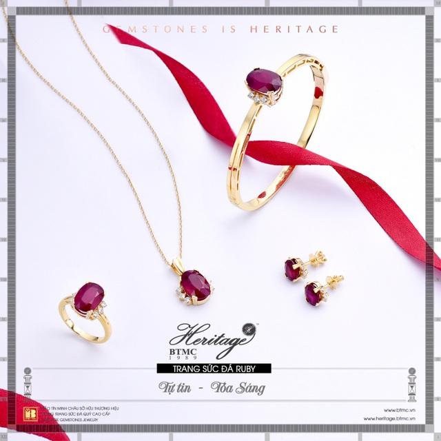 Hồng ngọc ruby - Viên ngọc quý may mắn cho người sinh tháng 7 - 1
