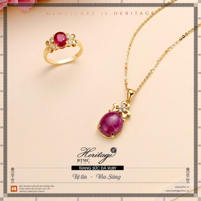 Hồng ngọc ruby - Viên ngọc quý may mắn cho người sinh tháng 7 - 3