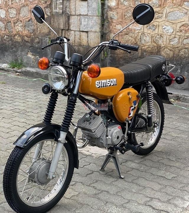 Xe máy Simson huyền thoại 31 năm tuổi giá 150 triệu đồng - 2