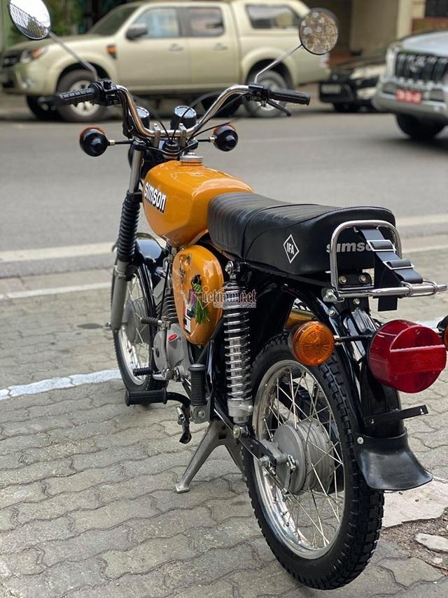 Xe máy Simson huyền thoại 31 năm tuổi giá 150 triệu đồng - 5
