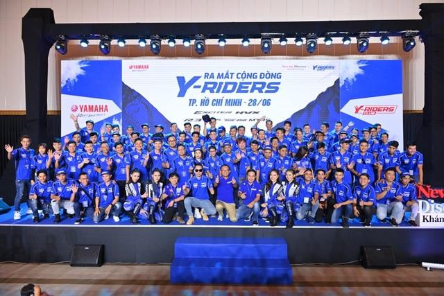 Y-Riders Club vừa ra mắt đã có hơn 5.000 thành viên chính thức - 1