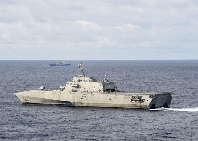 Tàu chiến Mỹ theo sát tàu khảo sát Trung Quốc trên Biển Đông - Ảnh minh hoạ 2