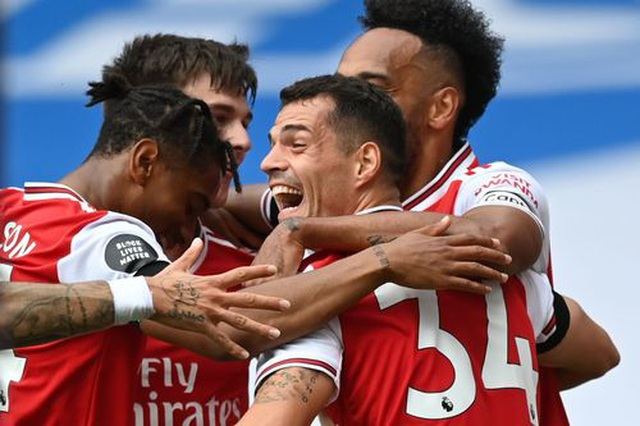 Arsenal 4-0 Norwich: Aubameyang được tặng hai bàn thắng - 7