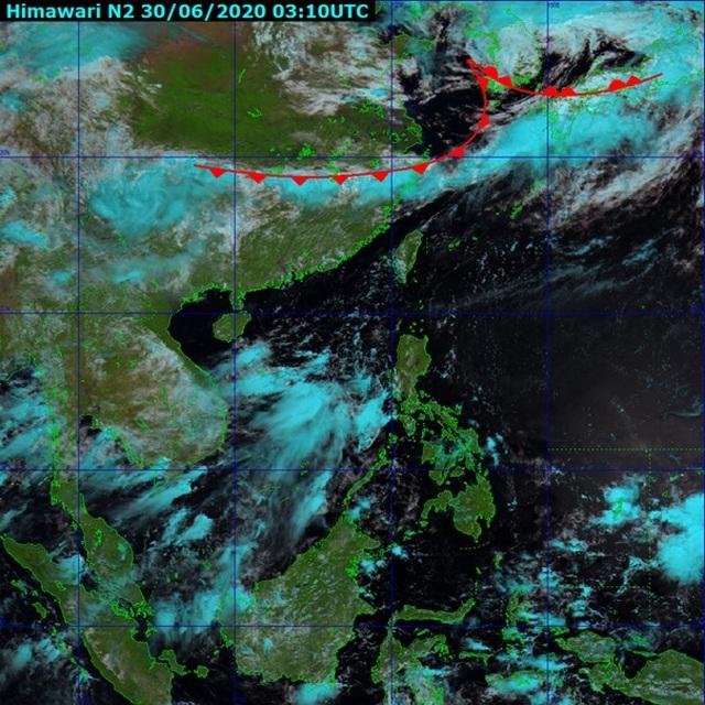 Dải mây Front gây mưa lũ lịch sử ở Trung Quốc có ảnh hưởng đến Việt Nam? - 1