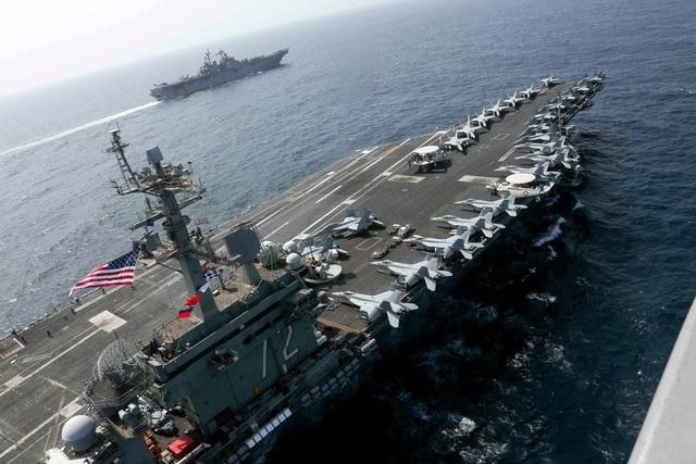 Mỹ dọa sẵn sàng sử dụng vũ lực quân sự với Iran - 1