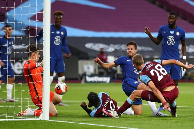 Nhìn lại trận thua đắng ngắt của Chelsea trên sân West Ham - 4