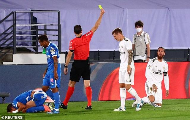 Ramos lập công, Real Madrid hạ Getafe và hơn Barcelona 4 điểm - 2