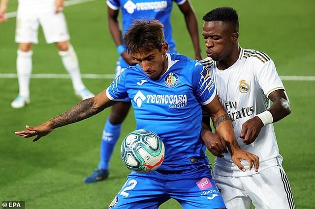 Ramos lập công, Real Madrid hạ Getafe và hơn Barcelona 4 điểm - 5