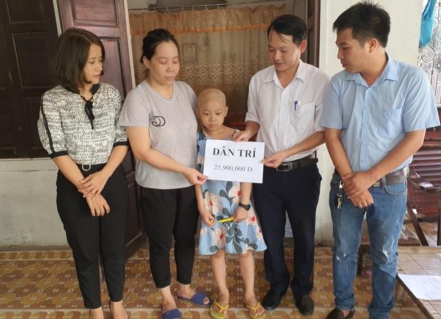 Bạn đọc ủng hộ gần 26 triệu đồng giúp bé gái chữa bệnh ung thư - 2