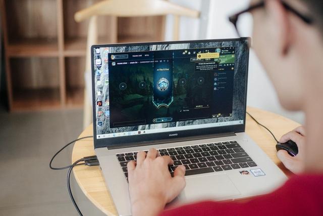 Trên tay Huawei MateBook D 15 - laptop đẹp và mạnh mẽ, giá 15,99 triệu đồng - 13