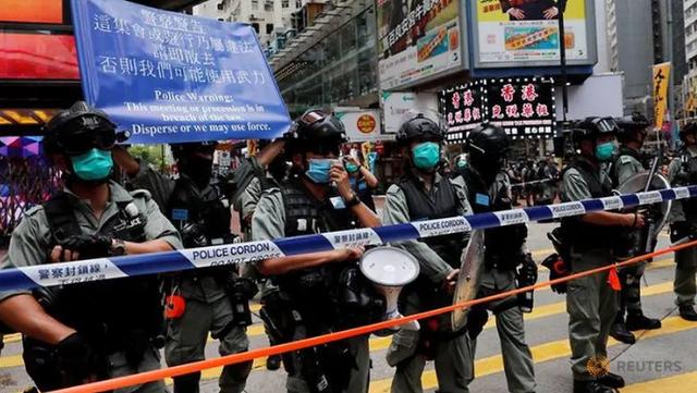 Hong Kong truy tố người đầu tiên theo luật an ninh mới
