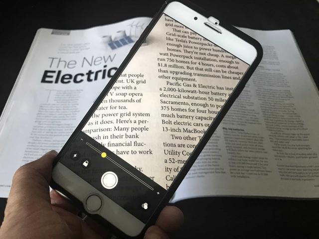 Mẹo biến iPhone thành kính lúp rất hữu ích cho người già - 1