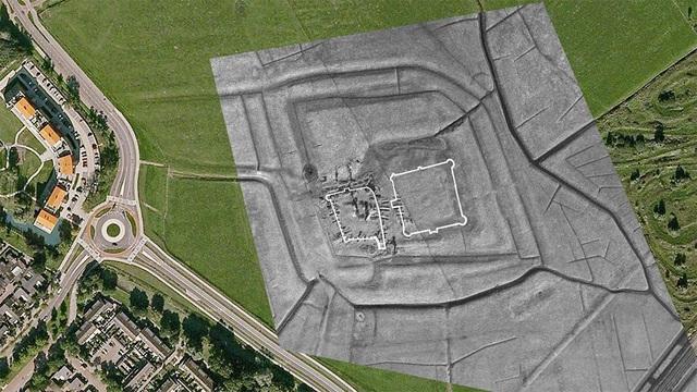 Phát hiện lâu đài cổ 800 năm tuổi bị chôn vùi dưới lòng đất - 2