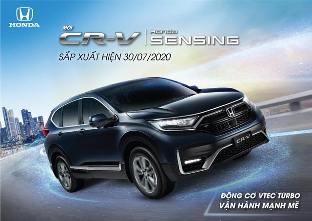 Phiên bản mới Honda CR-V 2020 sắp ra mắt thị trường Việt Nam - 1