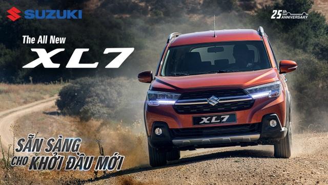 Suzuki chính thức ra mắt XL7 hoàn toàn mới: SUV 7 chỗ mạnh mẽ sẵn sàng cho khởi đầu mới - 1