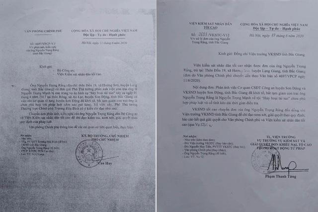 """Đề nghị Bộ Công an chỉ đạo kiểm tra vụ án """"hủy hoại tài sản"""" ở Bắc Giang - 1"""