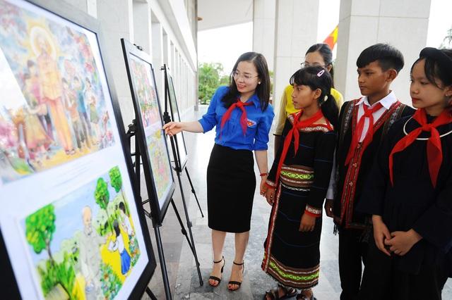 Nữ sinh lớp 7 Bến Tre giành 3 giải lớn ở cuộc thi thu hút học sinh cả nước - 3