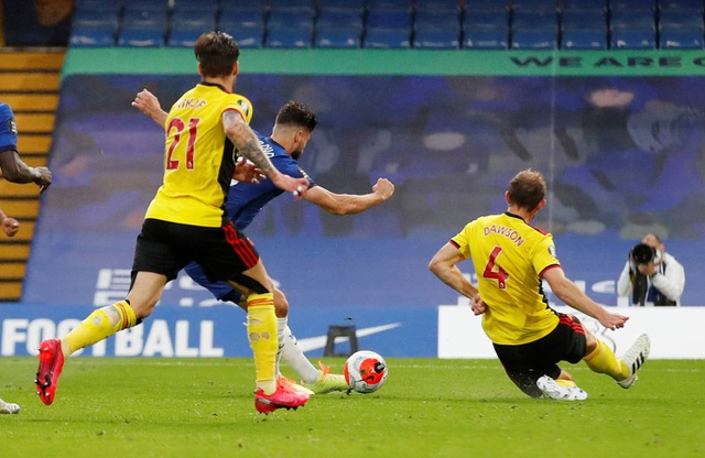Đè bẹp Watford, Chelsea giành lại vị trí thứ 4 từ Man Utd - 3