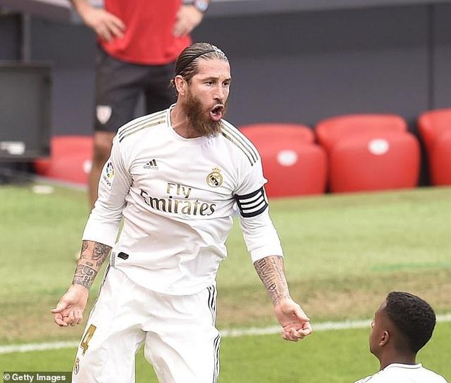 Ramos ghi bàn, Real Madrid bỏ xa Barcelona đến 7 điểm - 9