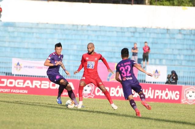 Thắng dễ CLB Hải Phòng, Sài Gòn FC dẫn đầu V-League - 3
