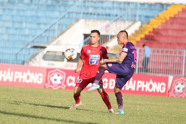 Thắng dễ CLB Hải Phòng, Sài Gòn FC dẫn đầu V-League - 2