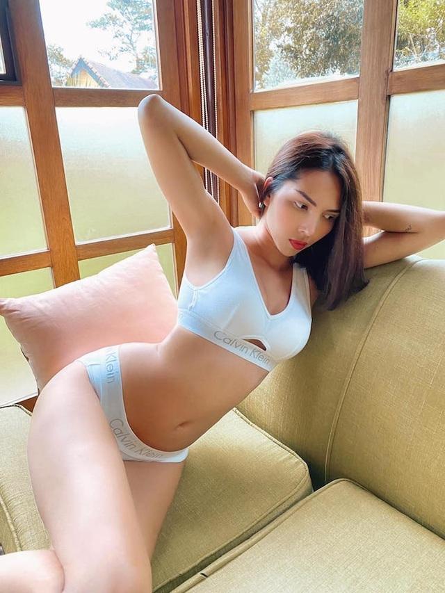 Kỳ Duyên, Minh Triệu nóng bỏng với nội y cặp - 2
