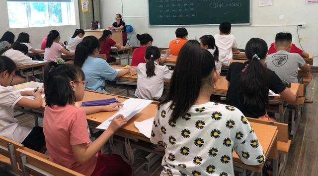 """Hà Nội: Gần 3.000 thí sinh giành suất vào trường """"hot"""" Lương Thế Vinh - 1"""