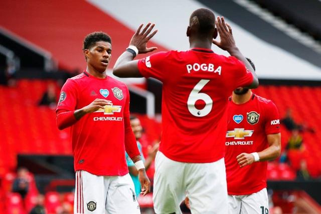 Những khoảnh khắc thăng hoa của hàng công Man Utd trước Bournemouth - 10