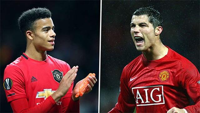 Mason Greenwood hơn hẳn C.Ronaldo ở tuổi 18 - 2