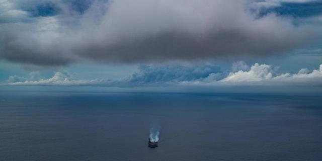 Cận cảnh tàu sân bay Mỹ tập trận ở Biển Đông - 2