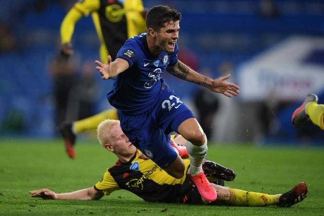 Đè bẹp Watford, Chelsea giành lại vị trí thứ 4 từ Man Utd - 2