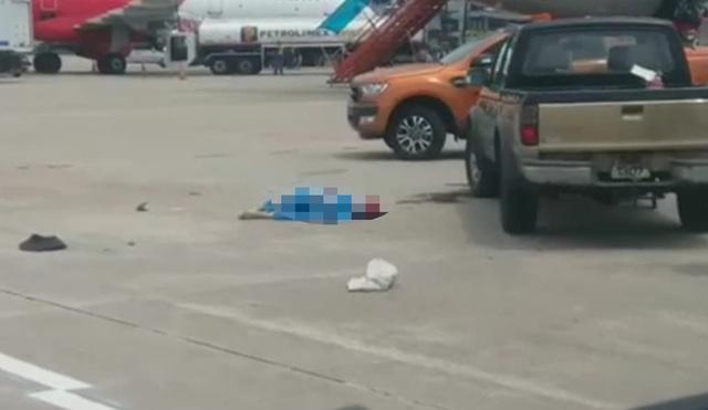 Ô tô đâm tử vong nhân viên vệ sinh trong sân bay Nội Bài - 2