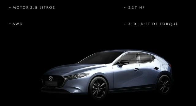 Hé lộ thông số kỹ thuật của Mazda3 Turbo 2021 - 1