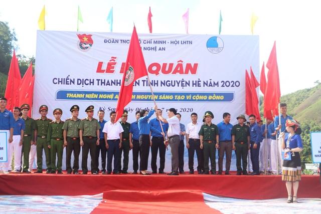 Tỉnh đoàn Nghệ An ra quân tình nguyện ở biên giới Việt - Lào - 5