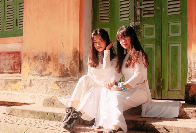 Vẻ đẹp tinh khôi của nữ sinh trường Chu Văn An trong ngày bế giảng - 6