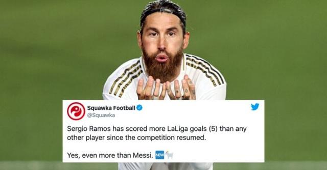 Kinh ngạc với khả năng ghi bàn như máy của Sergio Ramos - 2
