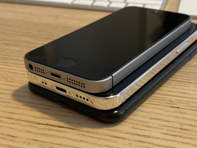 """Chùm ảnh iPhone 12 """"đọ dáng"""" cùng iPhone SE và iPhone 7 - 5"""