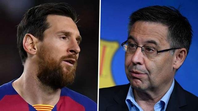 Chủ tịch Barcelona chính thức lên tiếng về tương lai của Messi - 1