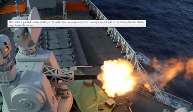 Trung Quốc tập trận đồng thời ở 3 vùng biển châu Á - 1