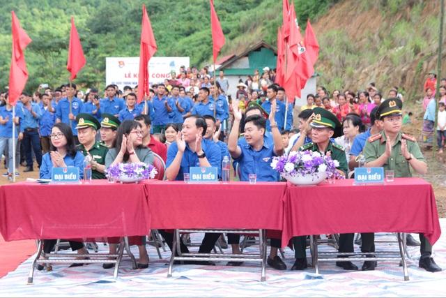Tỉnh đoàn Nghệ An ra quân tình nguyện ở biên giới Việt - Lào - 4