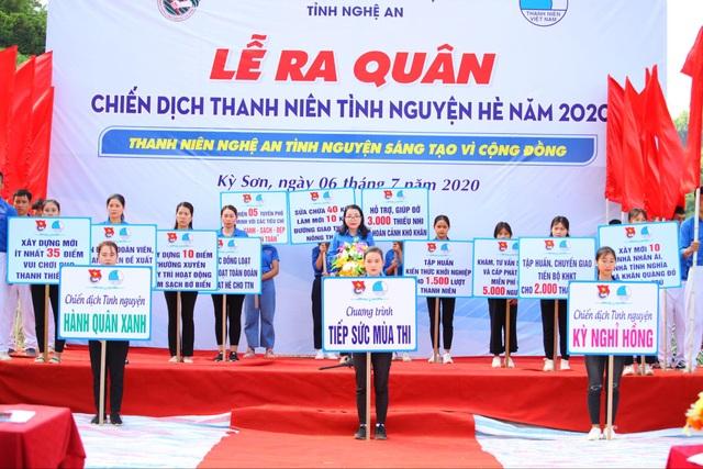 Tỉnh đoàn Nghệ An ra quân tình nguyện ở biên giới Việt - Lào - 6