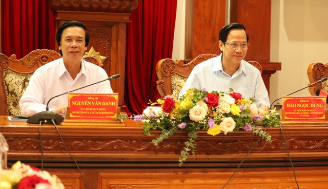 Bộ trưởng Đào Ngọc Dung: Không cứng nhắc khi duyệt hồ sơ liệt sĩ tồn đọng - 5