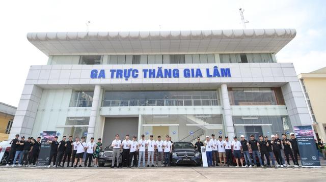 Khóa học lái xe Mercedes-Benz nâng cao lần đầu tiên được An Du tổ chức tại Hà Nội - 1