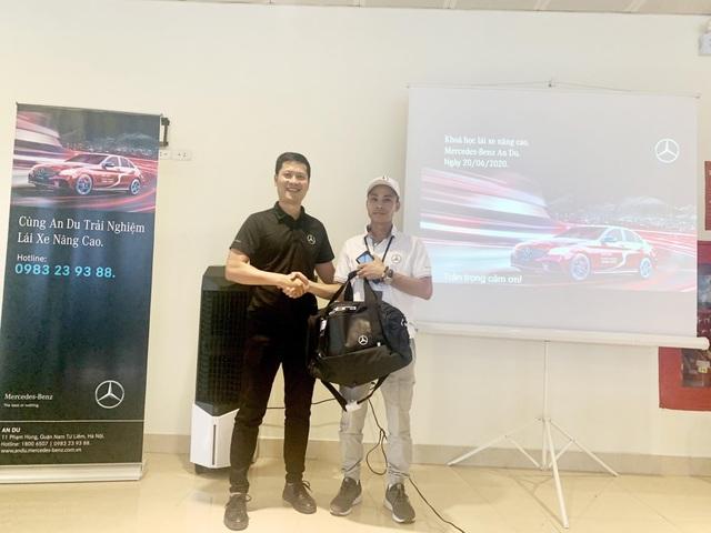 Khóa học lái xe Mercedes-Benz nâng cao lần đầu tiên được An Du tổ chức tại Hà Nội - 2