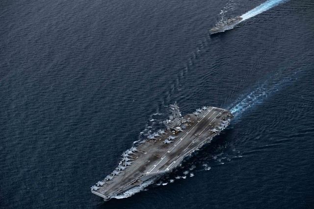 Máy bay quân sự Mỹ phô diễn sức mạnh trong tập trận tại Biển Đông - 22