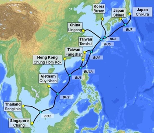VNPT đầu tư hàng trăm triệu USD cho đường cáp quang biển mới - 1