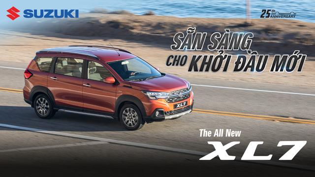 """Suzuki XL7 ra mắt, kỳ vọng """"soán ngôi vương"""" phân khúc SUV 7 chỗ"""