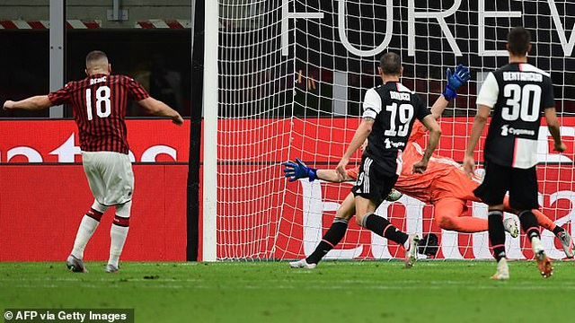 C.Ronaldo lập công, Juventus vẫn bị AC Milan ngược dòng không tưởng - 3